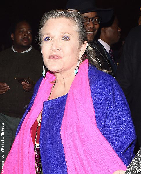 Carrie Fisher in December 2015