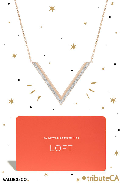 Swarovski and LOFT  prize pack