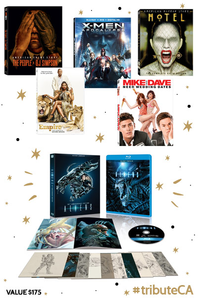 Fox Home Entertainment Prize Pack