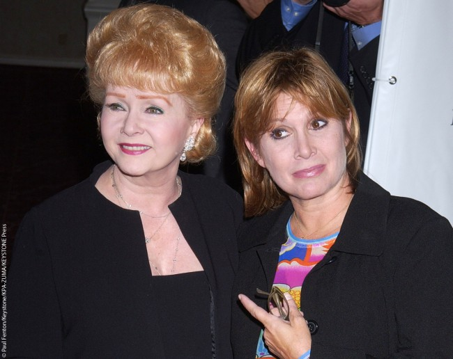 "Debbie and Carrie attended the seventh annual ""Costume Designers Guild Awards"" held at The Beverly Hilton Hotel on February 19, 2005 in Beverly Hills, California."