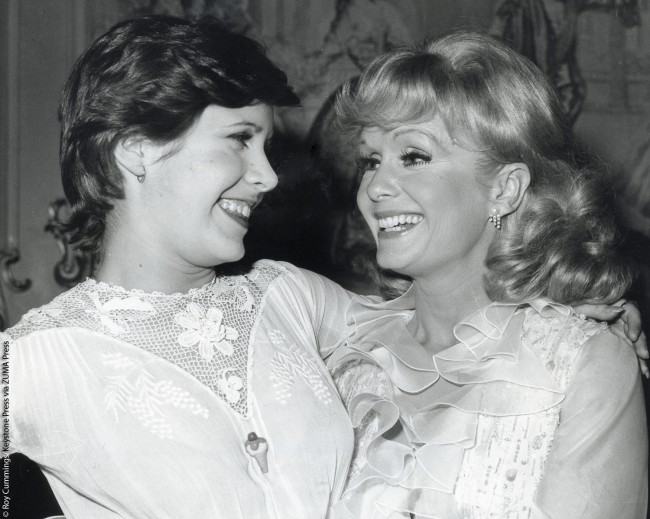 Debbie and Carrie in 1973. That was the year Carrie, 16, made her Broadway debut in the revival of the musical Irene, starring her mother. It was also Debbie's Broadway debut, because as she explained to the media, she'd been busy raising her children and doing projects close to home, such as movies and television.