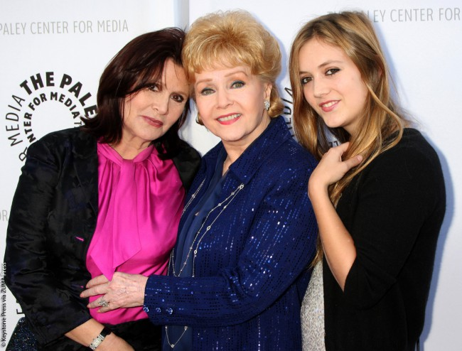 Debbie moved her Hollywood Memorabilia Museum to Los Angeles and eventually, because her second husband, Harry Karl, gambled away all her money and her third husband, Richard Hamlett, also caused her severe financial distress, Debbie would auction items off to pay her debts. Three generations — Carrie, Debbie and Carrie's daughter Billie Lourd — arrived at the Debbie […]