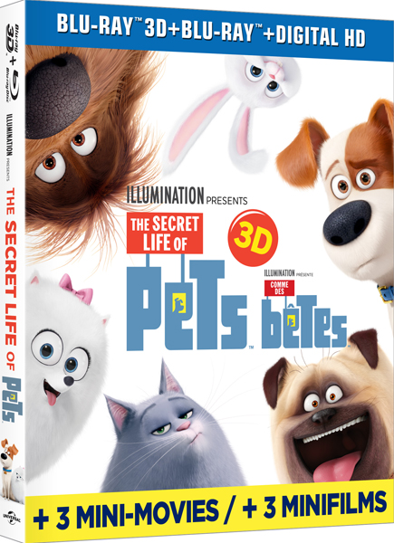 The Secret Life of Pets Blu-ray review