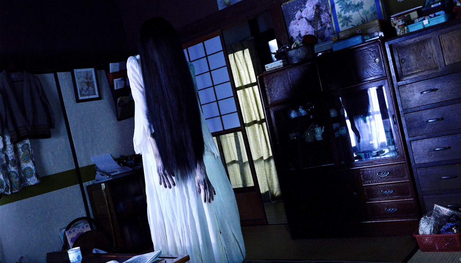 Sadako vs. Kayako exclusive clip