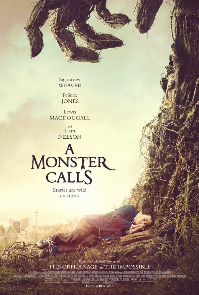 A Monster Calls releases in theaters this weekend