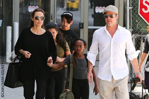 Angelina Jolie and Zahara Jolie-Pitt