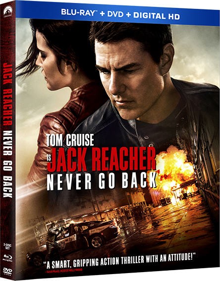 Jack Reacher: Never Go Back Blu-ray