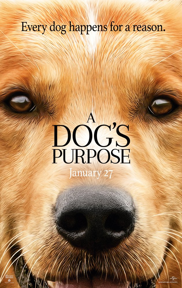 A Dog's Purpose in theaters Jan. 27