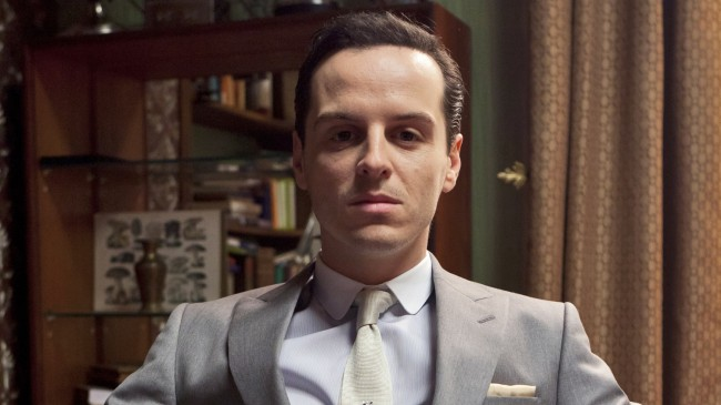 "Played by: Andrew Scott In Sherlock: The Abominable Bride, an episode of the Sherlock TV series starring Benedict Cumberbatch that screened as a special event in theaters, Andrew Scott as Professor Moriarty earned hatred from fans. His voice has been described as ""high and whiny,"" with his performance deemed ""campy"" and a ""Graham Norton impersonation"" […]"