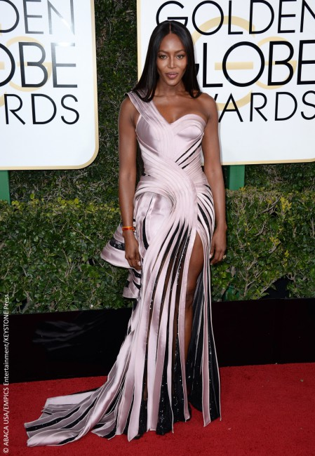 From the waist up, Naomi Campbell looked every bit the glowing supermodel. However, from the waist down, she seemed to be channeling Ursula from The Little Mermaid. Her lilac Versace gown was one of the more outrageous outings on the Golden Globe red carpet, looking more like a design student's class project than a couture […]