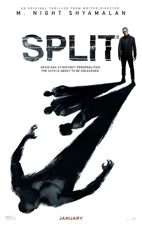 Split releases in theaters today