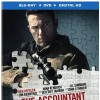 The Accountant DVD and Blu-ray