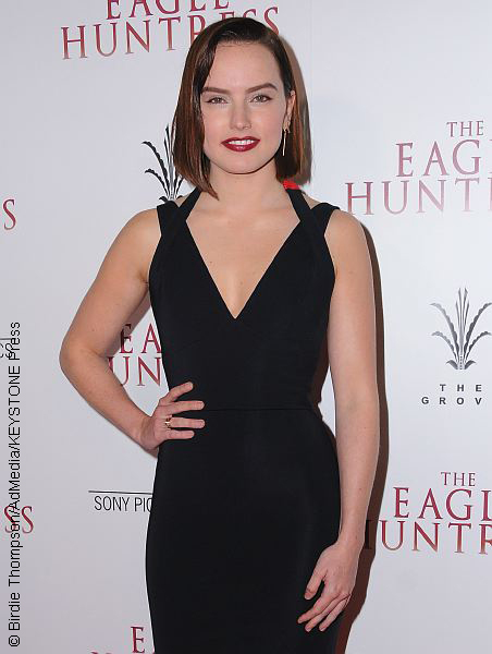 Daisy Ridley at The Eagle Huntress premiere