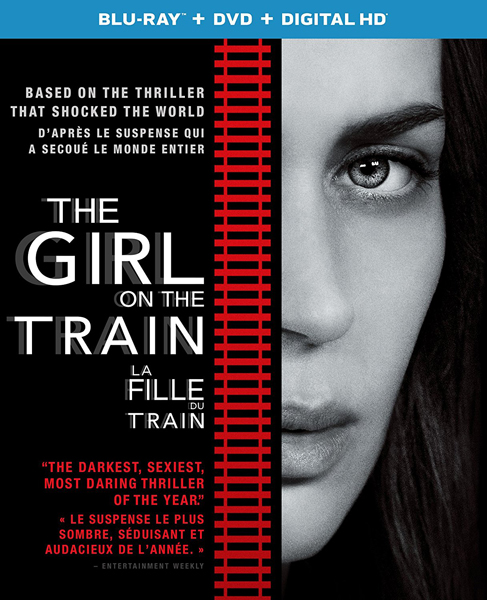 The Girl on the Train on DVD and Blu-ray