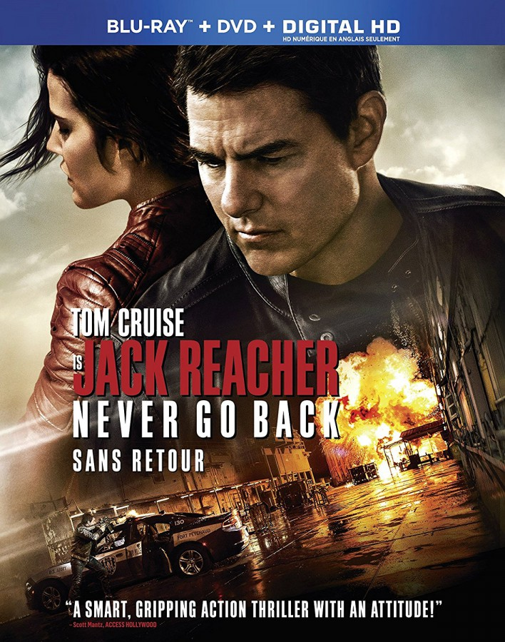 Jack Reacher: Never Go Back new on DVD