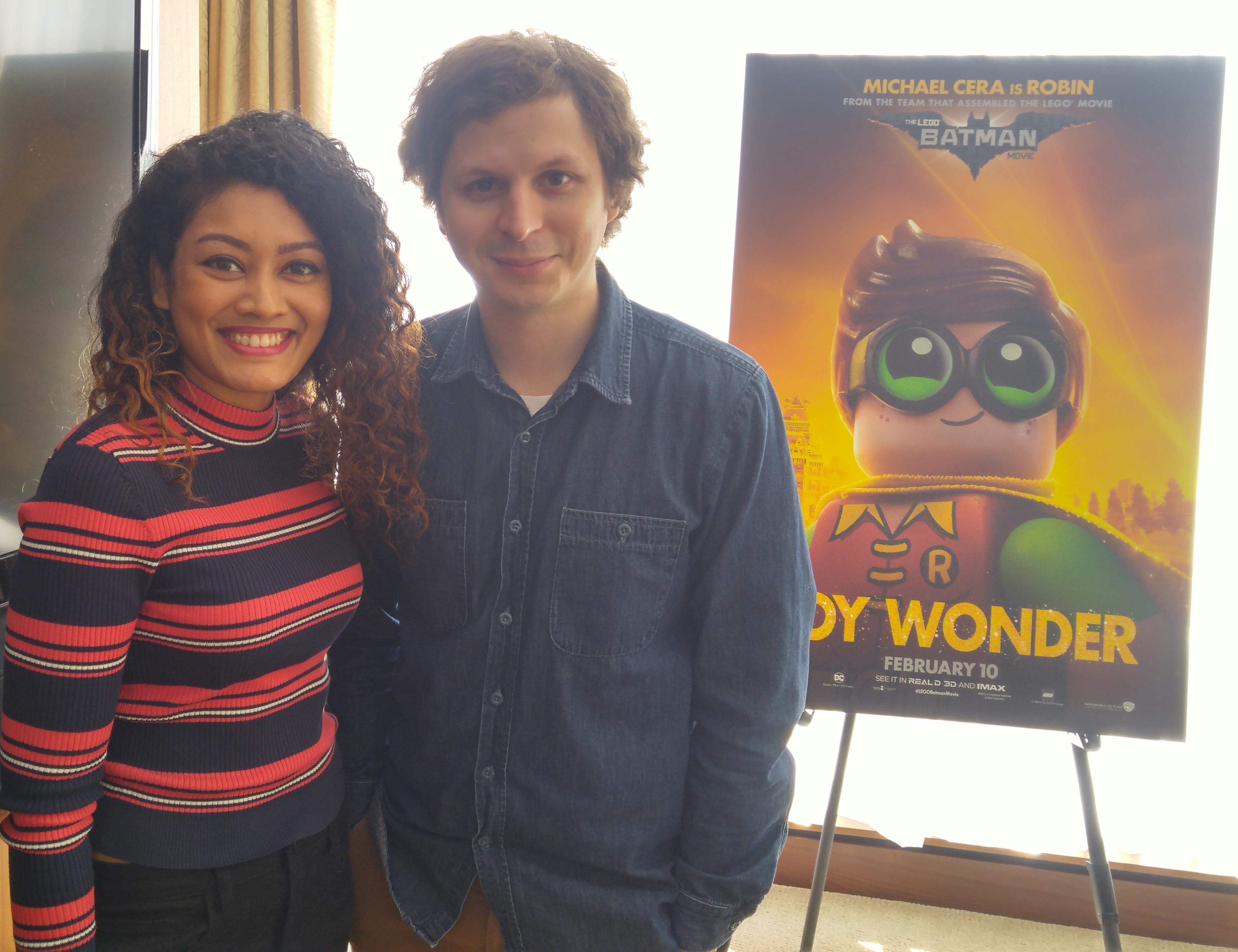 Marriska Fernandes and Michael Cera