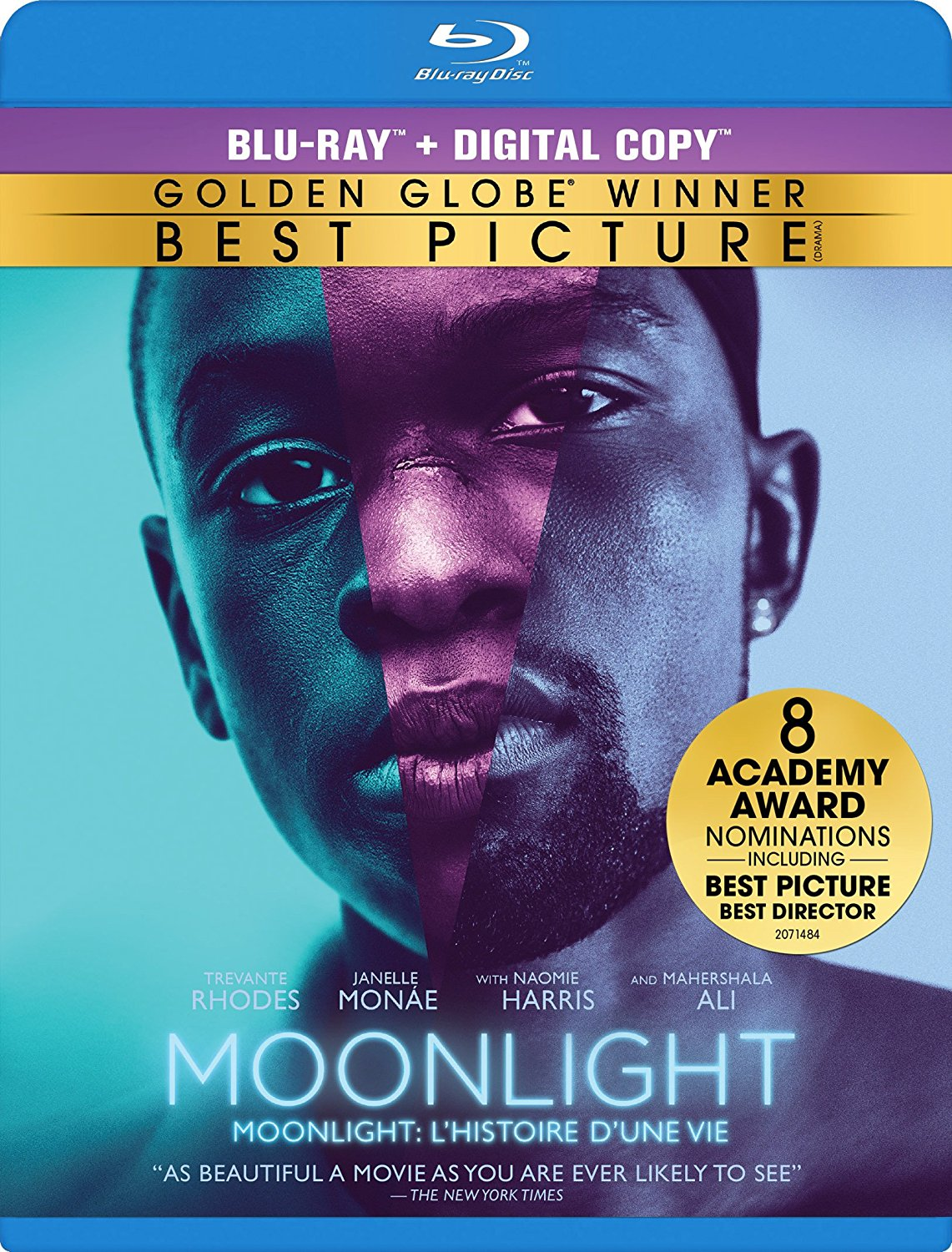 Moonlight new on DVD