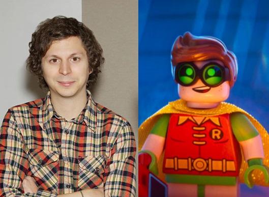 Michael Cera as Robin in The LEGO Batman Movie
