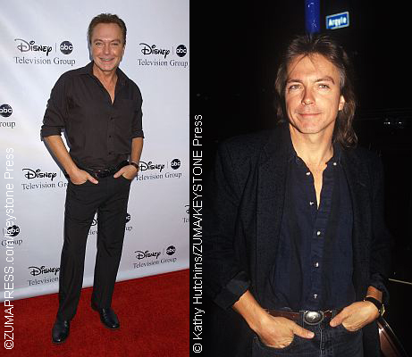 David Cassidy now and then