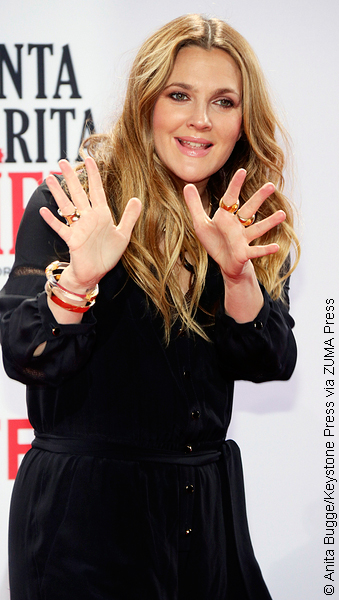Drew Barrymore at premiere of Santa Clarita Diet