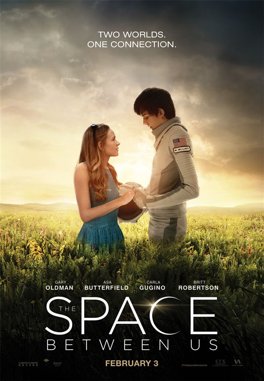 The Space Between Us new in theaters