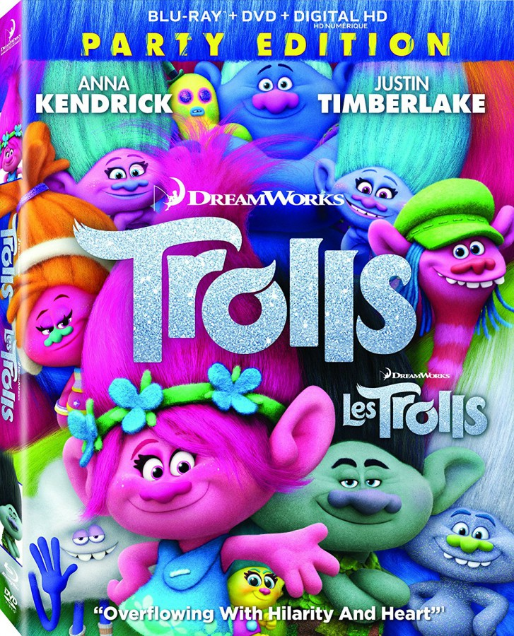 Trolls new on DVD this week