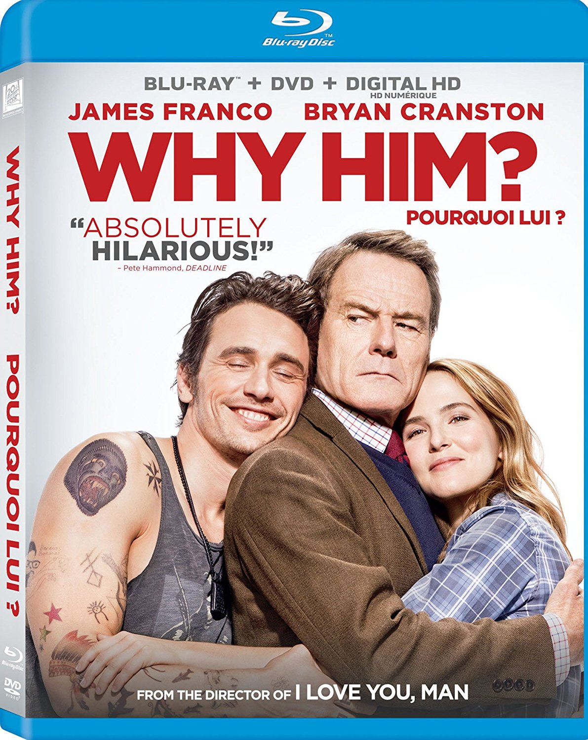 Why Him? new on DVD