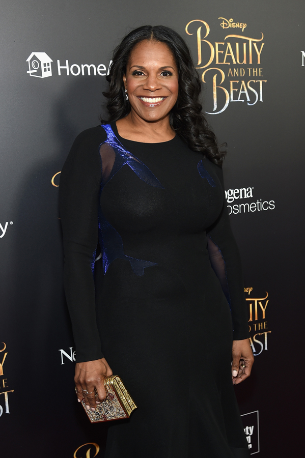Audra McDonald at the Beauty and the Beast premiere