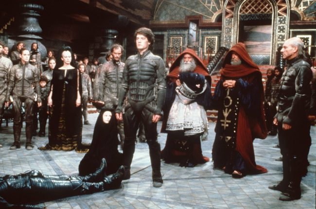 The early '80s was a fine time for space-set pictures, and it wouldn't have been the same without David Lynch's Oscar-nominated Dune. Based on Frank Herbert's 1965 novel of the same name, the picture stars Kyle MacLachlan, Virginia Madsen, Linda Hunt and Sting (yes, that Sting). With family drama, desert warriors, a galactic emperor and […]