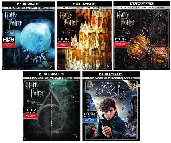 Final four Harry Potter films arrive on 4K Ultra HD