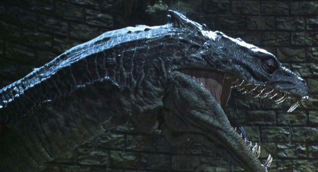 A frightening, formidable and fanged figure, the Basilisk in Harry Potter and the Chamber of Secrets is a giant green serpent with haunting yellow eyes. Its venom is highly poisonous, it possesses great strength and an unquenchable thirst for blood, and it dwells in the Chamber of Secrets at Hogwarts. It's controlled by the heir […]