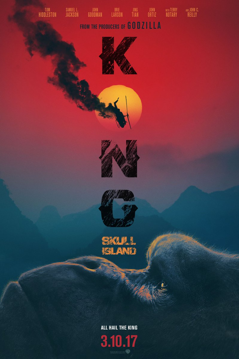 Kong: Skull Island tops box office