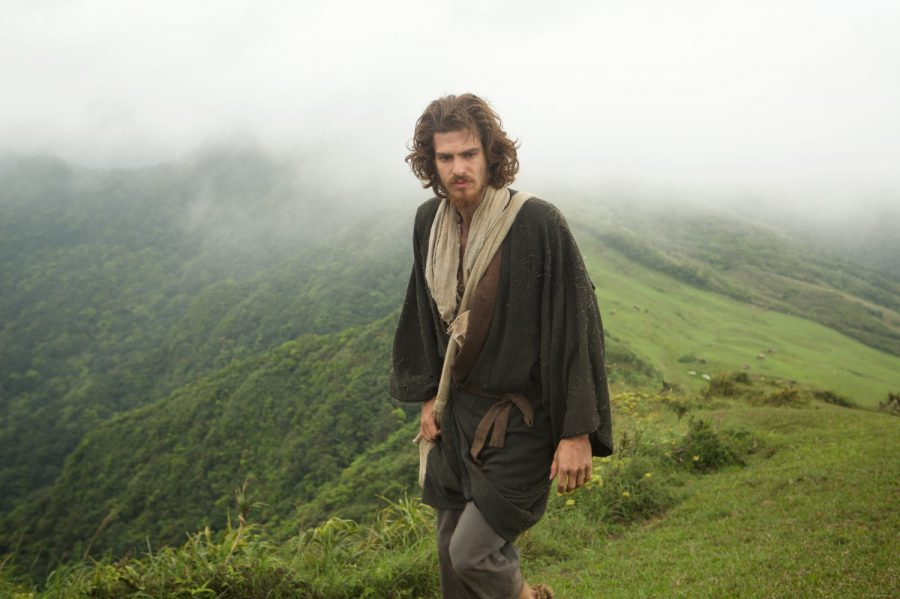 Andrew Garfield in Silence