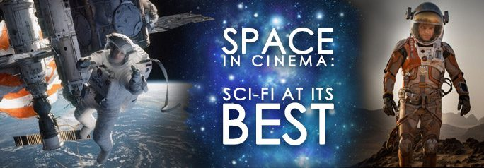 Space — as a setting — is a commonality among some of cinema's most riveting sci-fi pictures. It provides a stunning backdrop that can be eerie or calming, quieting or intense. Certain filmmakers have ventured into the unknown to create thrillers while others sought the overwhelming beauty of space to bring dramatic features to the […]