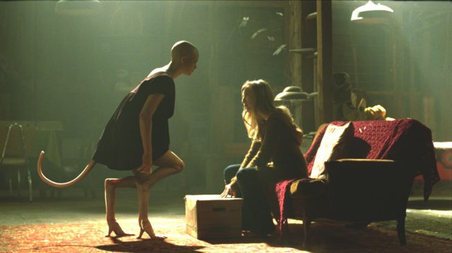 When scientists Elsa (Sarah Polley) and Clive (Adrien Brody) created Dren (Delphine Chanéac), they didn't anticipate her (later he) to be a violent, malevolent force. But by the end of Splice, they're forced to accept their creature's spiteful tendencies. Dren is a four-fingered being equipped with a tail and webbed feet. For much of the […]