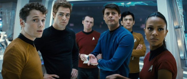 A list of the best sci-fi films based in space would be incomplete if it didn't recognize Star Trek in some capacity. J.J. Abrams' Oscar-winning movie Star Trek features Chris Pine and Zachary Quinto, among others, as Federation protectors. Beam us into space with this crew and we're content.