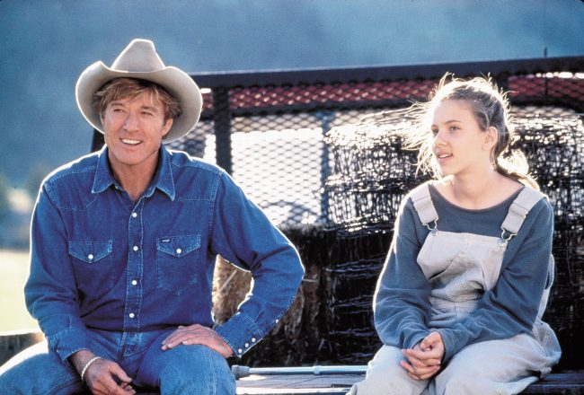 Based on a novel by Nicholas Evans, The Horse Whisperer stars Robert Redford, Kristin Scott Thomas and 14-year-old Scarlett as a traumatized teen named Grace. The Oscar-nominated drama isn't without flaws, but Scarlett capitalized on the opportunity to showcase her range in the film, cementing herself as a talent to follow.