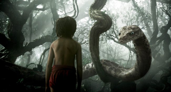 Scarlett's voice takes center stage again as the hypnotizing snake Kaa in Jon Favreau's live-action remake of Disney's The Jungle Book. Smooth and calming, Kaa's voice is the perfect way to entrance little Mowgli in the hopes of getting an easy meal!