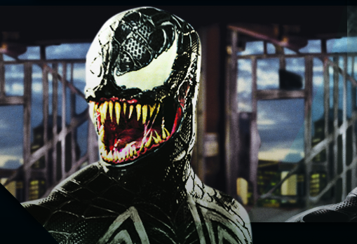 Topher Grace as 'Venom' in Spiderman: 3 (2007)