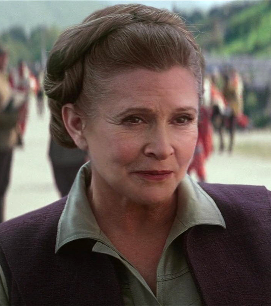 Carrie Fisher's death will not change Star Wars film