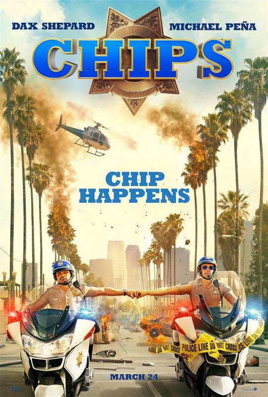CHIPS starring Dax Shepard