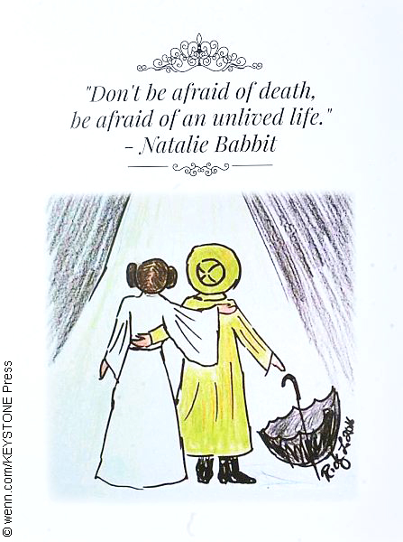Carrie Fisher and Debbie Reynolds service