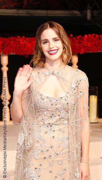 Emma Watson at Beauty and the Beast China premiere