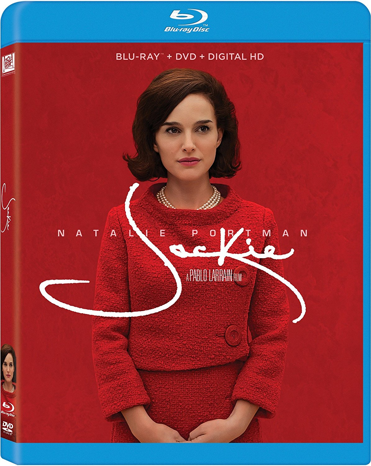 Natalie Portman as Jackie on Blu-ray
