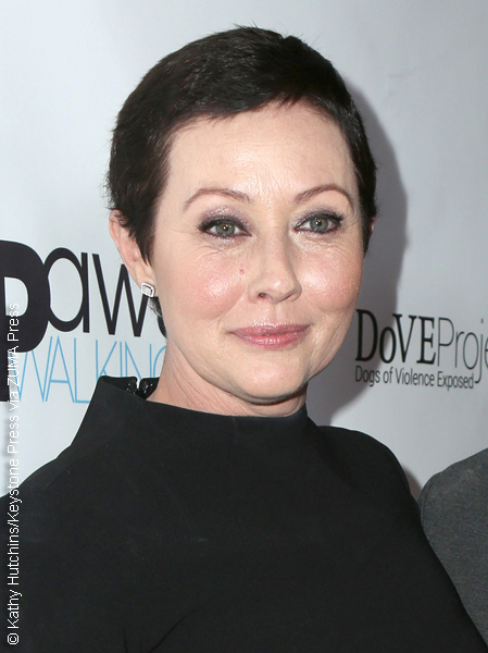 Shannen Doherty at an event for the Animal Hope & Wellness Foundation