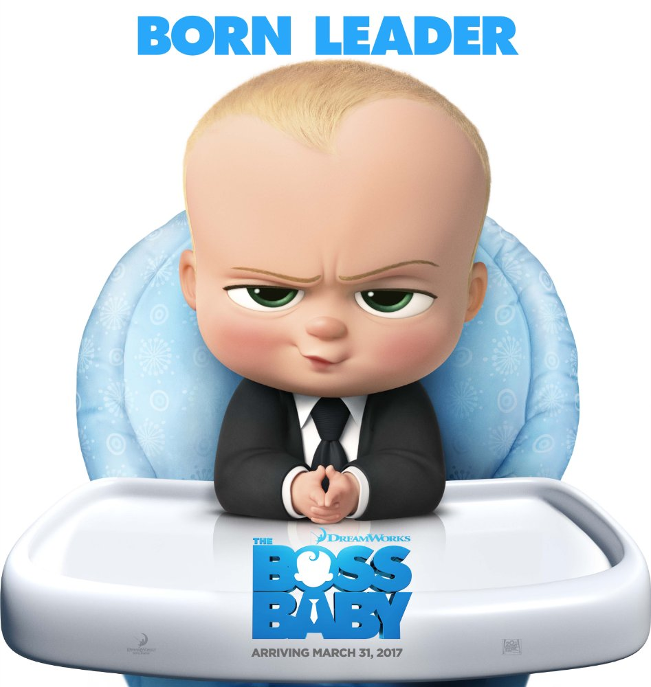 The Boss Baby wins at weekend box office