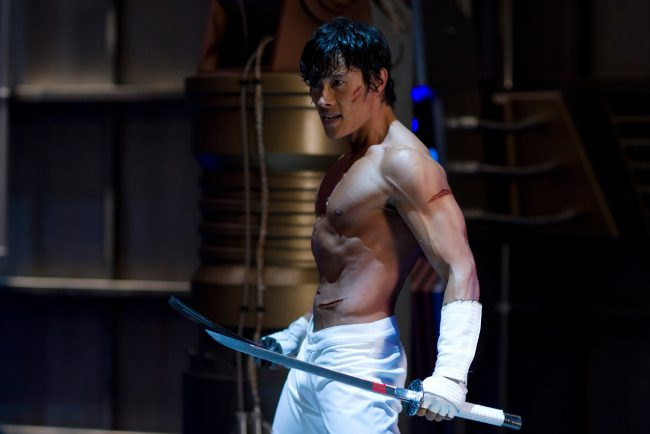 The Magnificent Seven's Byung-hun Lee and wife Min-jung Lee have one son together, little Joon Hoo. P.S. If you feel like you've seen Byung-hun's beautiful face in pictures besides The Magnificent Seven, you're correct — the Korean actor has flexed his muscles in G.I. Joe: The Rise of Cobra, G.I. Joe: Retaliation and RED 2.