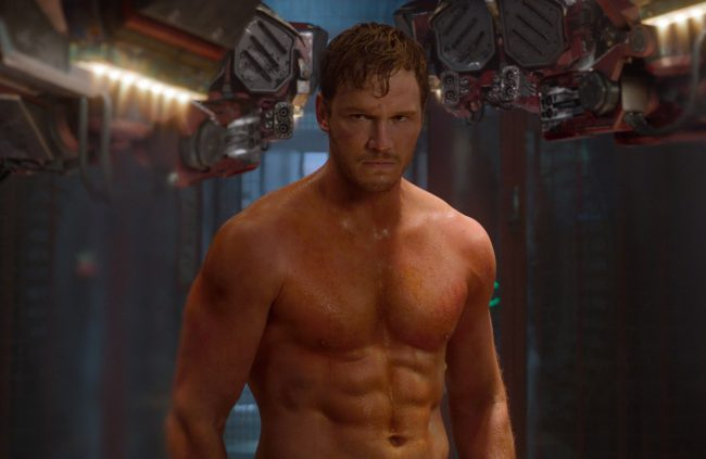 The Guardians of the Galaxy star is a stellar example of what a cool dad looks like. Devoted to his four-year-old son Jack with wife Anna Faris, Chris Pratt is the very picture of a fun-loving father, not to mention he looks pretty handsome while doing it.