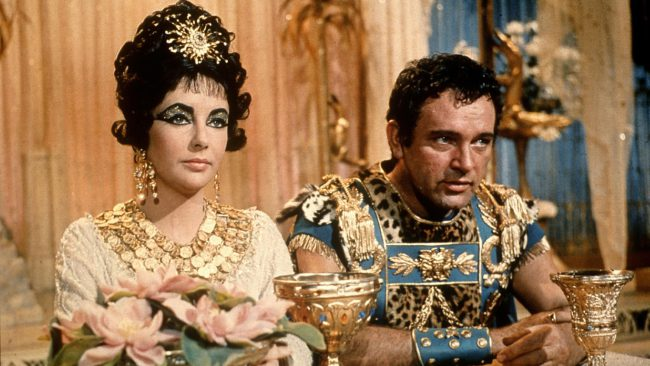 Icons Elizabeth Taylor and Richard Burton have arguably the most turbulent and intriguing love story Hollywood has ever known. Famously, the pair met while filming 1963's four-time Oscar-winning epic Cleopatra. Although both were married at the time, they fell in love and embarked on a passionate affair. They divorced their respective spouses and married each […]