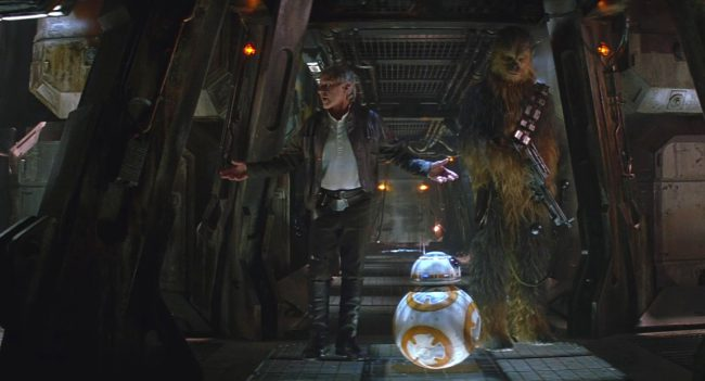 With a Star Wars reference masterfully hidden in Raiders of the Lost Ark (1981), it only seems fair that the people behind the production of Star Wars: The Force Awakens (2015) return the favor. When Han Solo and Chewbacca are on the Eravana freighter, a Rathtar is released and comes at them through the corridor. […]